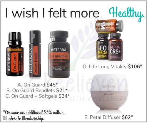 I wish I felt more Healthy