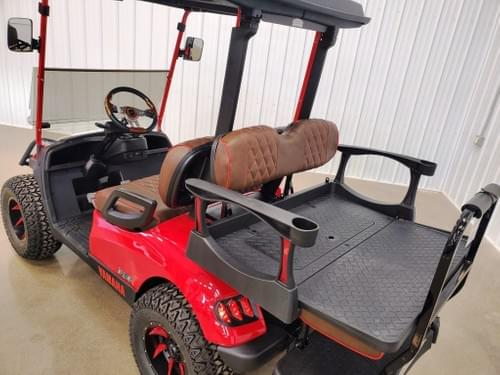 2015 Yamaha Drive Gas-EFI STREET DELUXE READY Golf Cart, Havoc Red