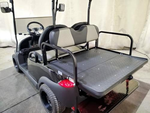 2014 Club Car Precedent Electric STREET READY Golf Cart, Metallic Black