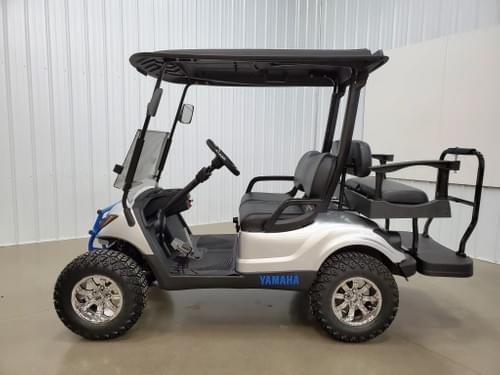 2013 Yamaha Drive Gas Carb DELUXE STREET READY Golf Cart, Silver