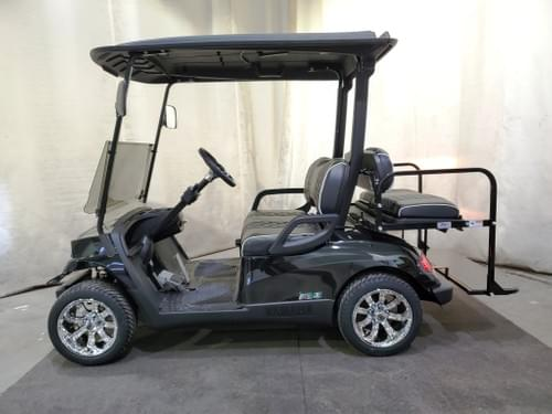 2015 Yamaha Drive Gas-EFI STREET READY Golf Cart, Havoc Black
