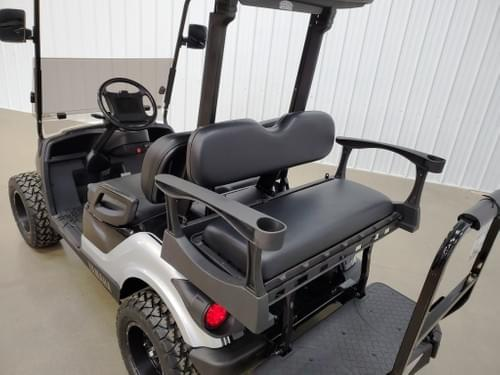 2013 Yamaha Drive Gas Carb DELUXE STREET READY Golf Cart, Black & Silver