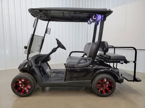 2013 Yamaha Drive Gas Carbureted BAZOOKA STREET READY Golf Cart, Black Diamond
