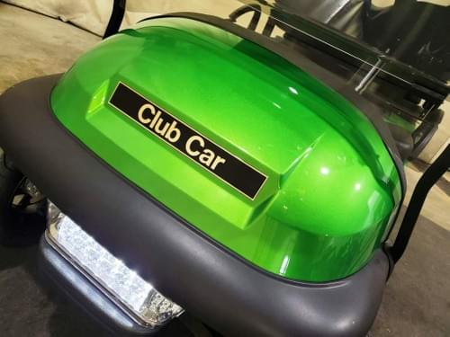 2014 Club Car Precedent Electric STREET READY Golf Cart, Metallic Synergy Green