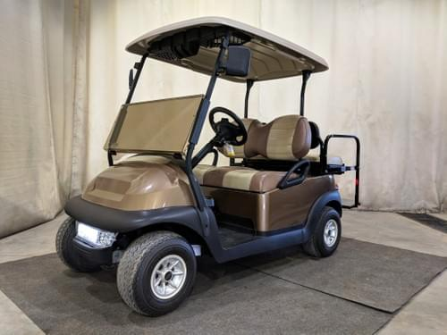 "2015 Club Car Electric Golf Cart ""Champion Edition"", Bronze"
