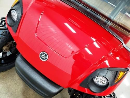 2016 Yamaha Drive Gas Carb STREET READY Golf Cart, Red