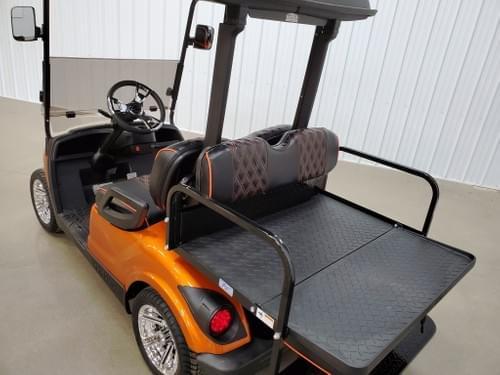 2013 Yamaha Drive Gas Carb STREET READY Golf Cart, Atomic Orange Kandi