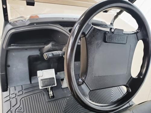 2013 Yamaha Drive Gas Carb STREET READY Golf Cart Golfer, Black Diamond & Charcoal