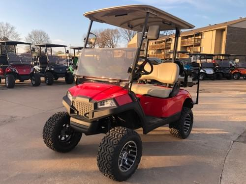 2008 Yamaha Drive Electric STREET READY Golf Cart, Havoc Red