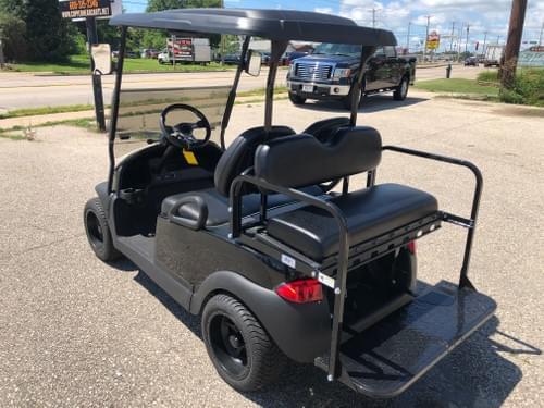 2014 Club Car Precedent Electric STREET READY Golf Cart, Metallic Black