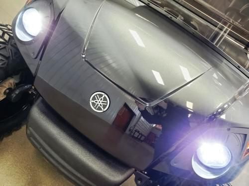 2013 Yamaha Drive Gas Carb DELUXE STREET READY Golf Cart, Black & Platinum Fade