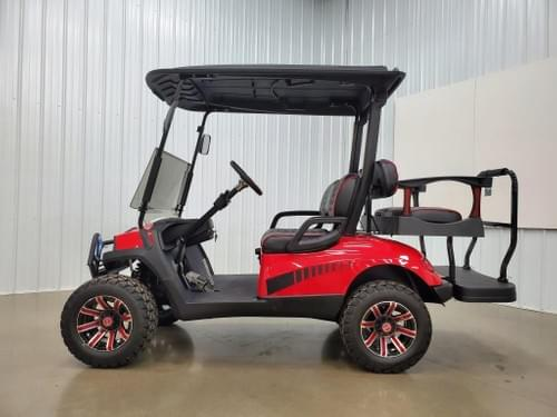 2015 Yamaha Gas Carbureted DELUXE, STREET READY Golf Cart, Havoc Red
