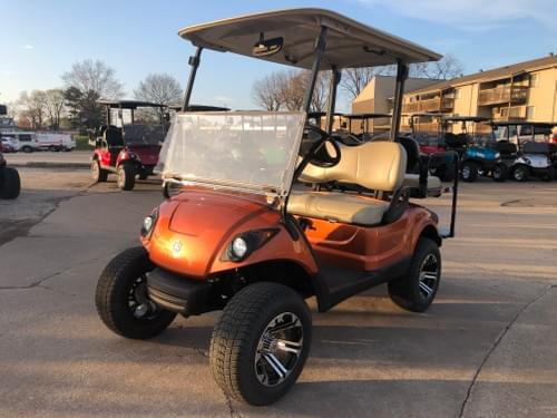 2013 Yamaha Drive Gas Carb Golf Cart, Orange