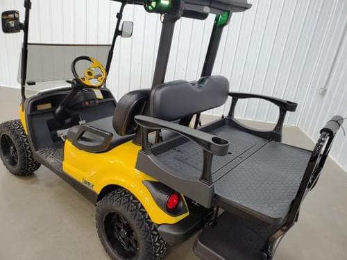 2016 Yamaha Gas EFI BAZOOKA DELUXE STREET READY Golf Cart, Cat Yellow