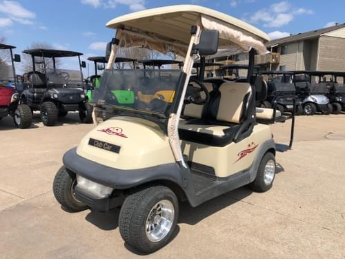 2006 Club Car Precedent, Electric STREET READY Golf Cart, Sandstone