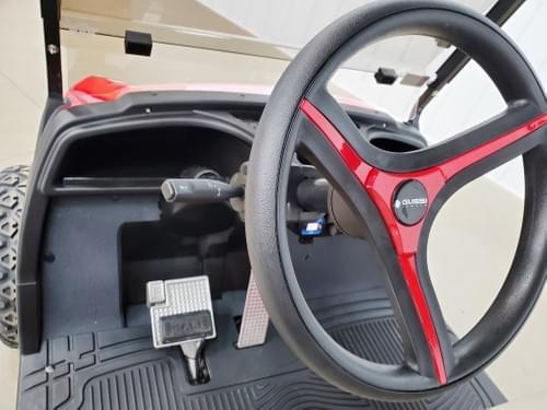 2008 Yamaha Drive Electric STREET READY Golf Cart, Havoc Red