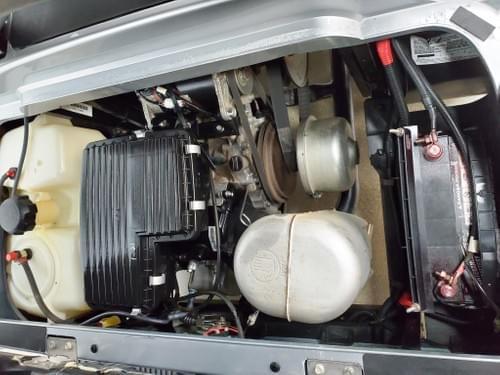 2013 Yamaha Drive Gas Carb DELUXE STREET READY Golf Cart, Grey