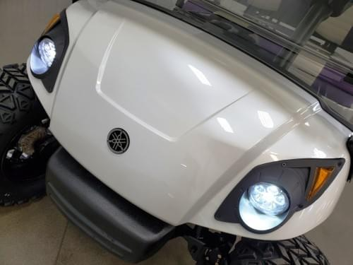 2015 Yamaha Drive Gas-EFI STREET DELUXE READY Golf Cart, Pearly White