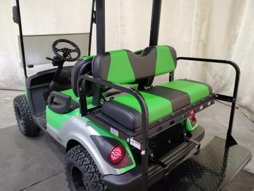 2015 Yamaha Drive Gas-EFI STREET READY Golf Cart, Extreme Green And Silver
