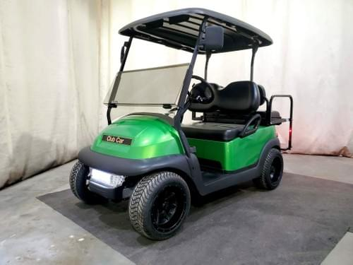 2014 Club Car Precedent Electric STREET READY Golf Cart, Metallic Synergy Green