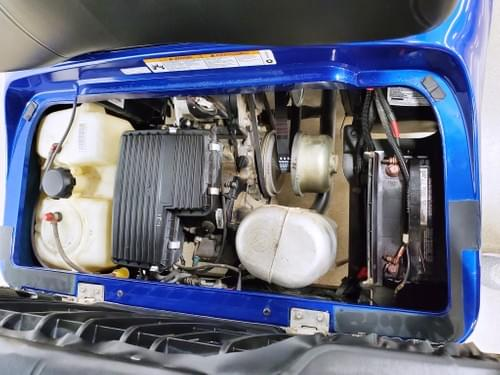2013 Yamaha Drive Gas Carb STREET READY Golf Cart, Deep Markle Blue
