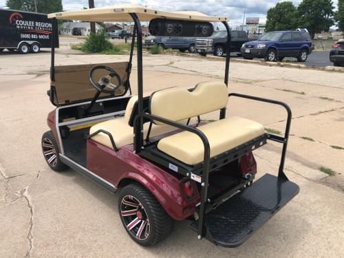 1987 Club Car DS, Gas Carb, Maroon