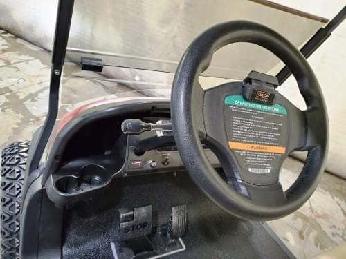 2016 Club Car Precedent Electric STREET READY Golf Cart, Sangria Red