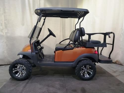 2018 Club Car Precedent Electric DELUXE STREET READY Golf Cart, Atomic Orange