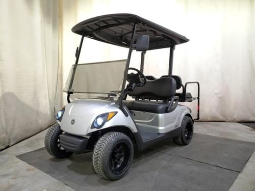 2015 Yamaha Drive Gas EFI Golf Cart STREET READY, Silver