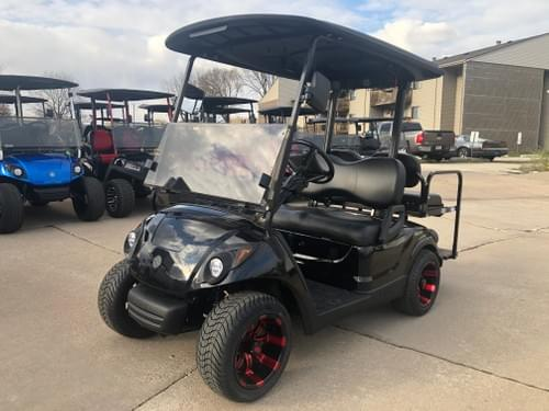 2013 Yamaha Drive Gas Carbureted BAZOOKA STREET READY Golf Cart, Black Diamond