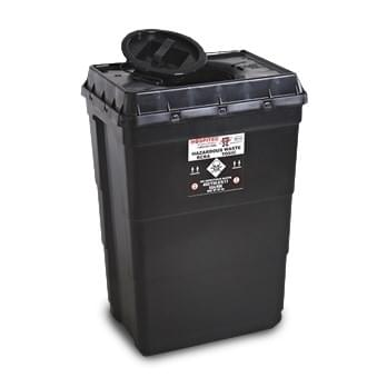 MBT-600 - 18 GAL Haz Pharmaceutical Waste container Black