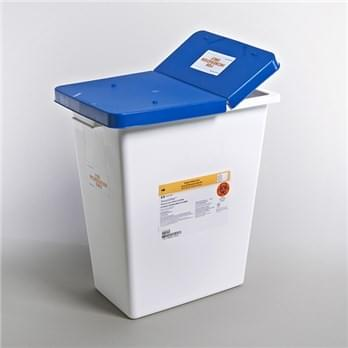 8850 - 8 Gallon Pharma Waste Container with Hinged Gasketed Lid
