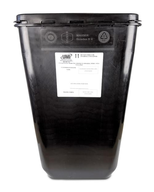 MW100 - 18 GAL - Haz Pharmaceutical  Waste Container - RCRA PGII Rated