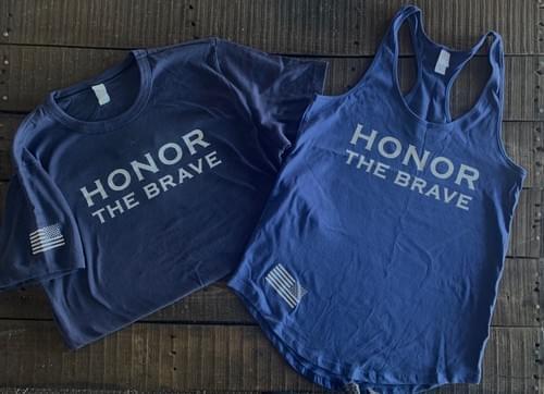 HTB BLUE Shirts & Tanks
