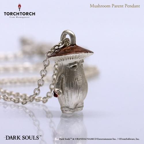 【Restock】DARK SOULS x TORCH TORCH/ Mushroom Parent Pendant