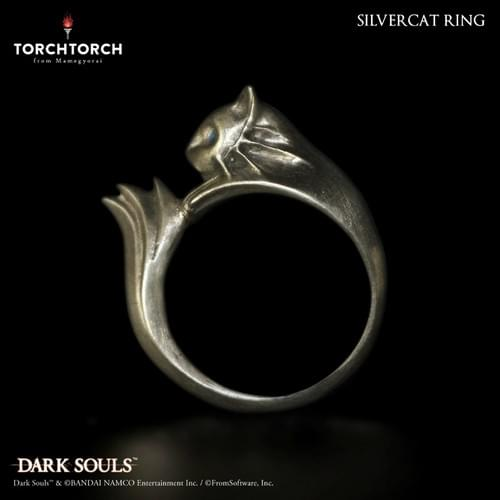 【Restock】DARK SOULS x TORCH TORCH/ Silvercat Ring