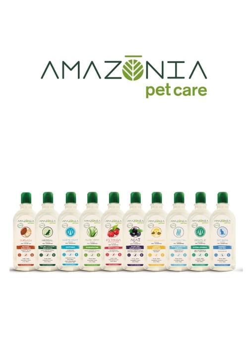 Amazonia亞瑪森寵物洗毛精-500ml