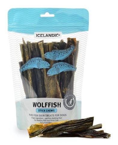 ICELANDIC+ 狼魚魚皮棒