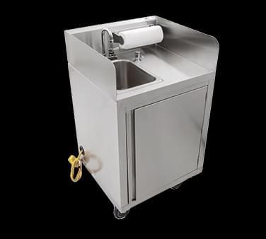 John Boos Mobile Hand Wash Sink - MHS-2624