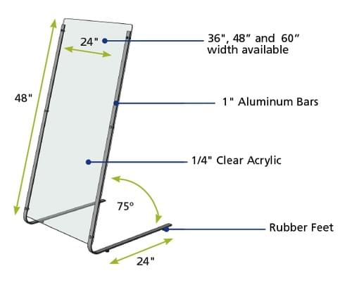Portable Protection Shield - PPS-248