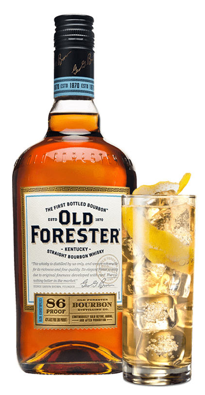 Old Forester 86 proof 43%