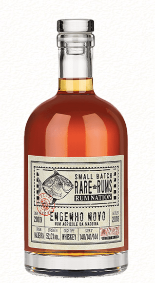 Rum Nation Engenho Novo Whiskey Cask 2009/2018 52%