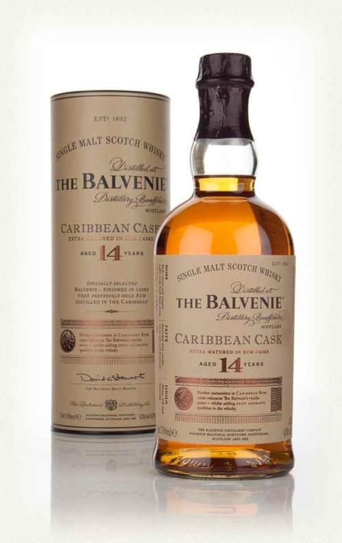 The Balvenie Caribbean Cask 14 YO