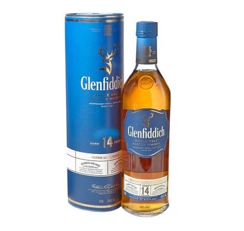 Glenfiddich 14 YO Bourbon Barrel Reserve (43% ABV)