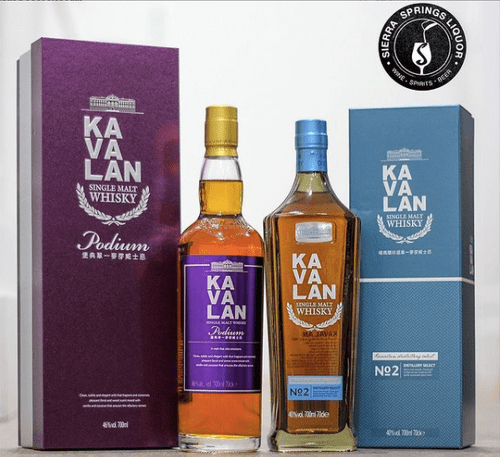 Kavalan Gift Set: KAVALAN DISTILLERY SELECT NO 2 AND KAVALAN PODIUM