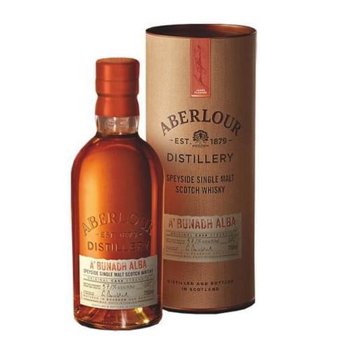 Aberlour A'bunadh Alba Cask Strength (60% abv)