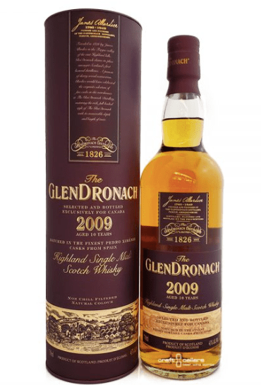 GlenDronach 2009 Vintage Single Malt Whisky