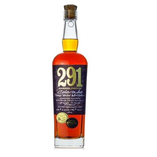 291 Distillery Single Barrel-Barrel Proof Colorado Bourbon (62.5% abv)