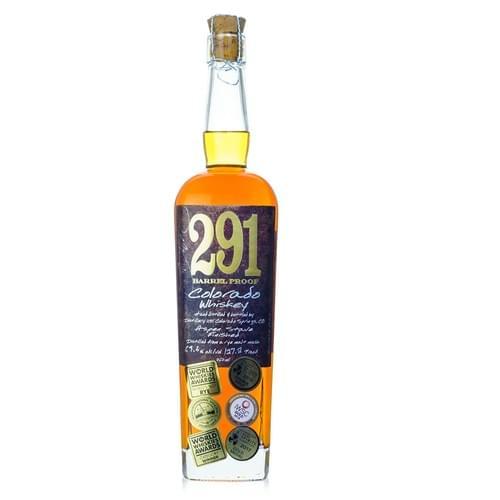 291 Distillery  Single Barrel-Barrel Proof Colorado Rye (62.5% abv)