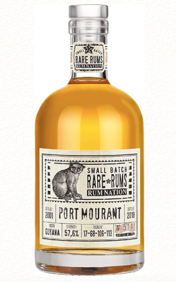 Rum Nation Port Mourant 2001/2019 57.6%